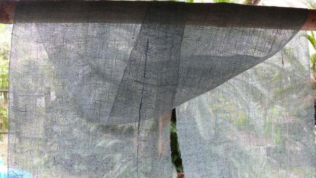 天の川工房の手織り
