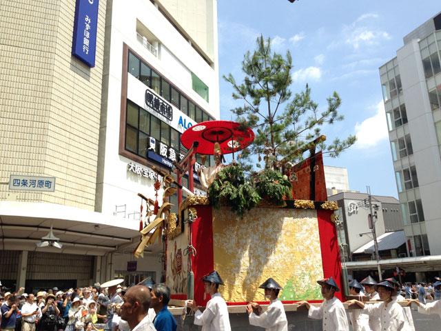 京都・祇園祭(鈴鹿山)