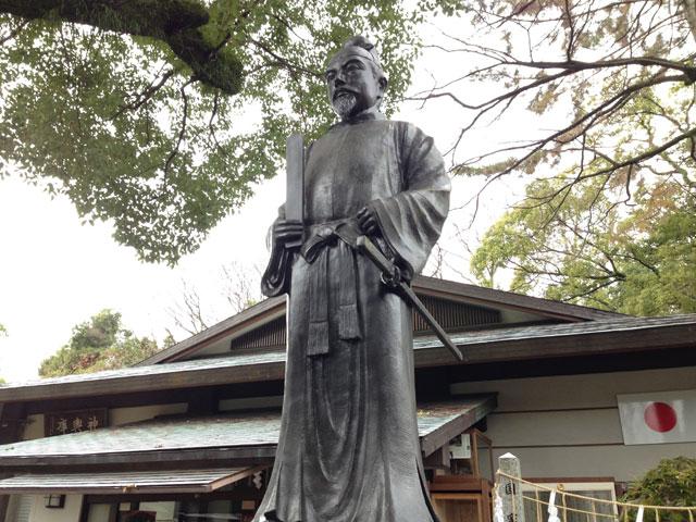 京都・護王神社(和気清麻呂公像)