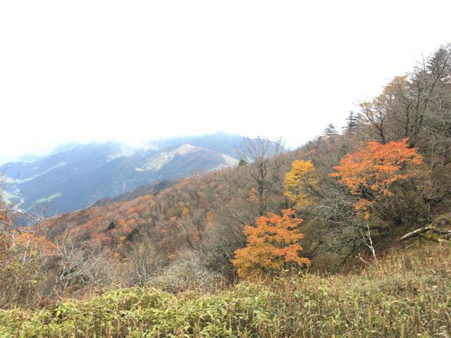 徳島・宝蔵石神社(神麻しめ縄奉納神事)剣山の紅葉