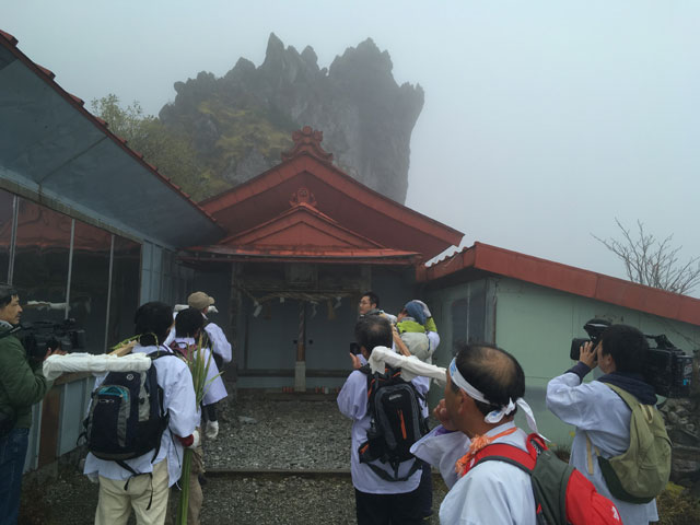 徳島・宝蔵石神社(神麻しめ縄奉納神事)大剱神社