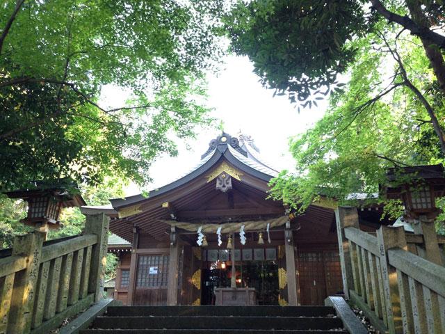 飯積神社拝殿