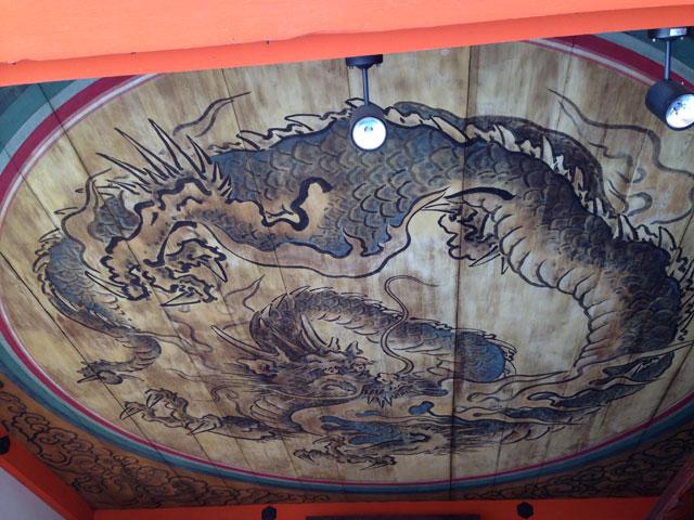 京都・地主神社(丸竜)