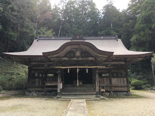 徳島・上一宮大粟神社