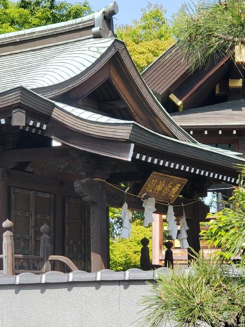 麁香神社(東京・石浜神社の摂社)社殿
