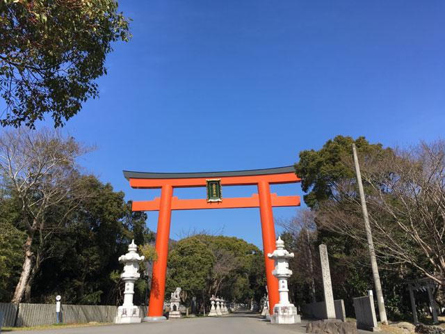 徳島・大麻比古神社(大鳥居)