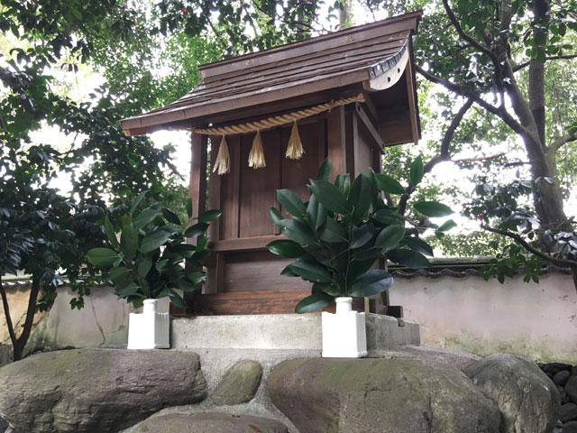 愛媛・西條神社(国産精麻のしめ縄)