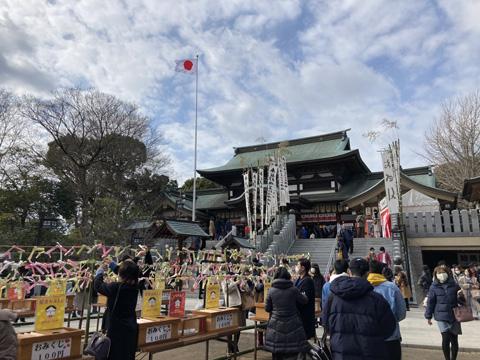 伊豫豆比古命神社(椿神社)へ初詣